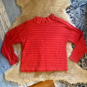 Anthropologie Maeve Cotton Pullover Large M3